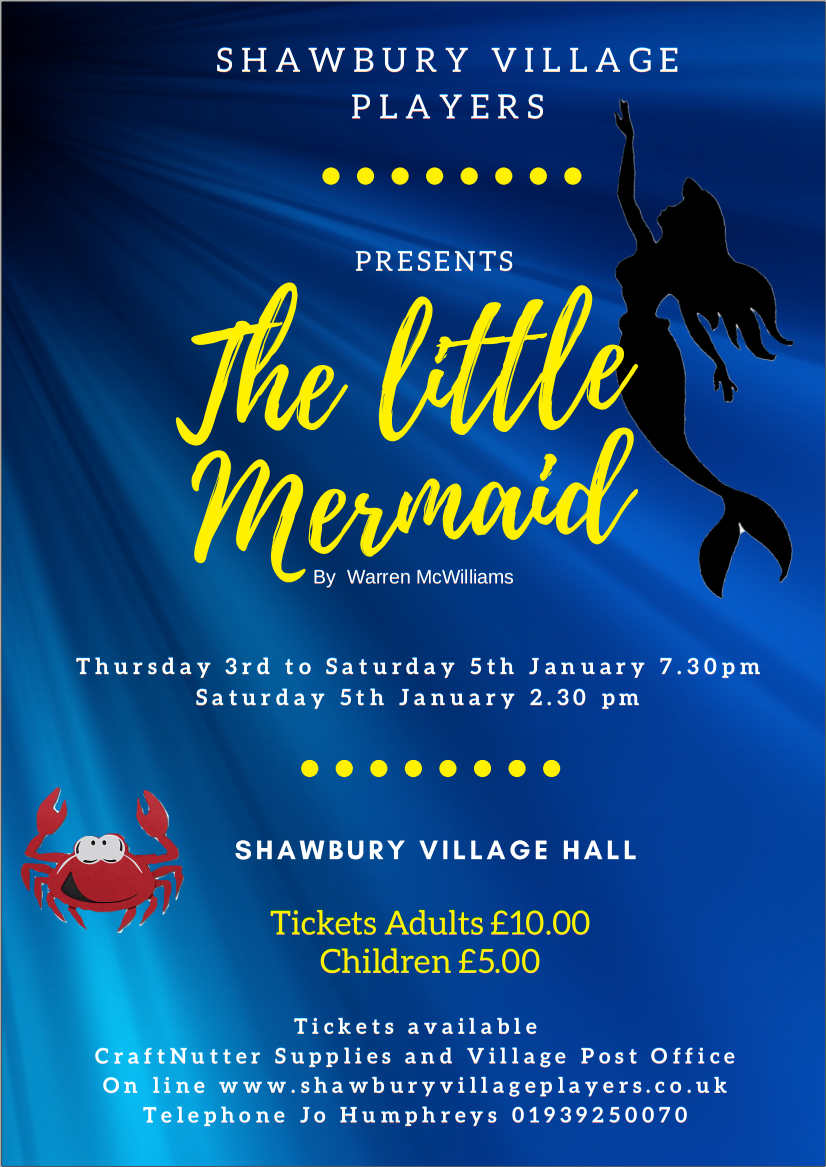 Poster of The Little Mermaid Pantomime